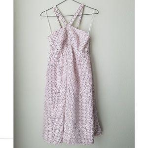 Madewell Silk Convertible Halter Dress